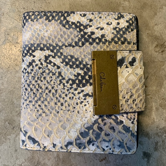 COLE HAAN SNAKE SKIN WALLET - NEW!! Tags! Quality